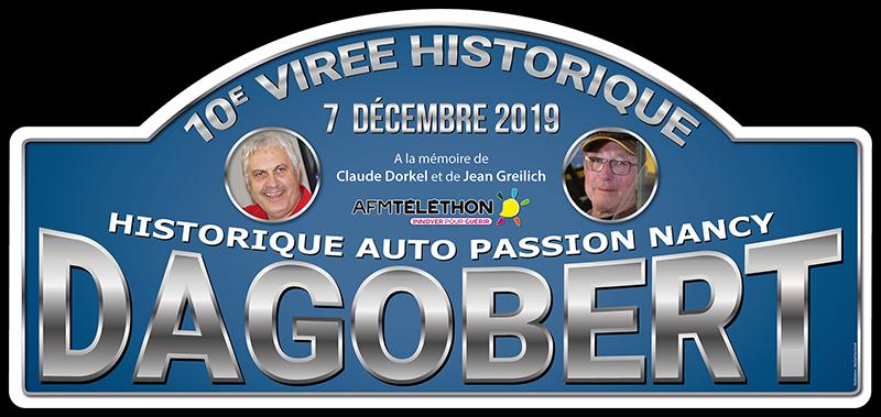 Plaque du 10e Dagobert pour le Téléthon 2019
